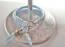 Bracelet noué bleu * fermoir Rond * Enfant Garçon ou fille * bonbons * cadeau