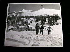 CANADA  PHOTO  BANFF  NAT PARK SKING 1953 #2845