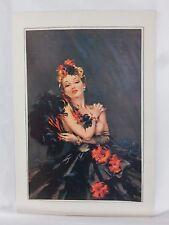 Boudoir Salon 1940s 50s  Decor Vintage print from photographers studio  nude ..9