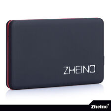 "Zheino 1.8 CF USB 2.0 1.8"" ZIF PATA Hard Drive Enclosure - Black"