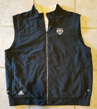 Adidas Kingsway Country Club Zip Up Vest Jacket (Size XL) Black