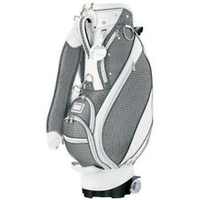 Dunlop Ggc-X084W Womens Caddy Bag With Casters 8.5 inch Gry Fast Ship Japan Ems