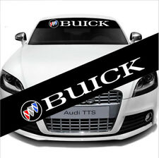 Racing Car Front Rear Windshield Banner Decal Auto Reflective Sticker For Buick
