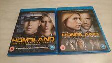 Homeland Season 1 and 2 (UK Blu Ray DVD)