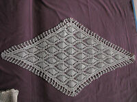 #1054  Beautiful Vintage Hand Made Table Runner  98cm/55cm(38.5''x22'')