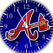 Atlanta Braves Frameless Borderless Wall Clock Nice For Gifts or Decor Z185