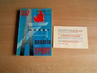 LIBRO=ANNUARIO DELLO SPORT 1957=EDIZIONI SESS/GAZZETTA=TUTTI I RISULTATI DEL '57