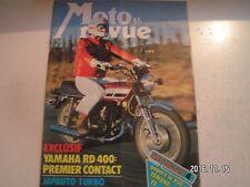 **e Moto revue n°2253 Yamaha 400 RD / 250 Laverda Enduro / Yamaha Cross 125 250