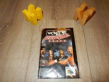 PAL N64: WCW vs NWO Revenge Manual Only NO GAME (EN FR IT ES) Nintendo 64