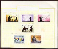 St. Vincent MH Album Page Of Stamps #V1991