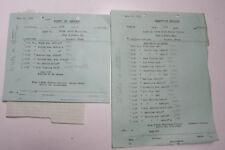 1929 Lamson Goodnow Texas Hotel Supply Co Houston Order List Ephemera L716C