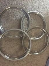 1968-1976 Beauty Trim Rings for Triumph TR6 Set of 4