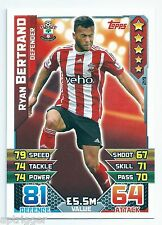 2015 / 2016 EPL Match Attax Base Card (219) Ryan BERTRAND Southampton