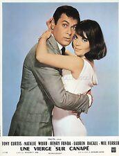 TONY CURTIS  NATALIE WOOD SEX AND THE SINGLE GIRL 1964 VINTAGE LOBBY CARD #2