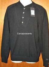 Men's Under Armour Cashmere Silk Black Sweater #1265252  Size XL