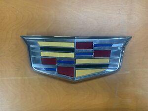 2015-2019 Cadillac Escalade ESV GM OEM Front Grille Emblem 23182045