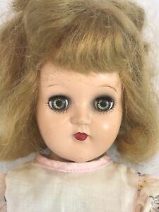 "Ideal P-90 Toni 14"" Doll 1950s Vintage Original Dress Shoes Hard Plastic NICE!"