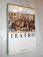 TEATRO - FILIPPO CANU - SIPARIO EDIZIONI - 1993
