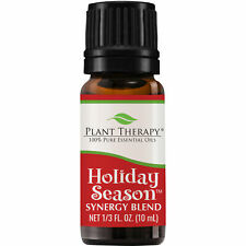 Plant Therapy Holiday Season Synergy Essential Oil 10 mL (1/3 oz) 100% Pure