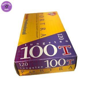 Kodak PORTRA 100T Tungsten 120 Pro Pack 5 Rolls Color Negative Film 2003