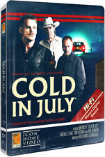 Cold In July Limited Edition Steelbook Bluray UK Exclusive Region B NEW SEALED