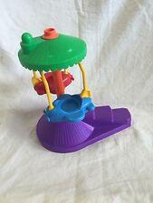 Vintage Fisher Price Amusement Park  Airplane Ride Plastic 1993 Toy Planes