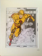 The Flash - Reverse Flash - DC Comics - Hand Drawn & Hand Painted Cel