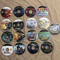 Original Xbox 17 Game Disc Lot Spiderman Splinter Cell Ghost Recon Dead Or Alive