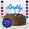 Daddy Dad Happy Birthday Cake Topper PERSONALISED Custom Glitter 3mm Acrylic