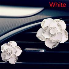 2x Car Perfume Colorful Flowers Bling Diamond Car Air FreshenerClipDecorationsAT