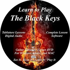 The Black Keys Guitar TABS Lesson CD 110 Songs + Backing Tracks + BONUS!!