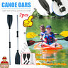 2pc*Inte Inflatable Fishing Rowing Boat Raft Canoe Kayak Dinghy With Paddle Oars