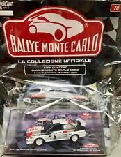 Modellino Auto Macchina Rally Monte-Carlo 70 Audi Quattro 1982 1:43