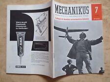 +++Mechanikus Ein Magazin für Modellbau und handwerkliche Selbsthilfe Juli 1964+