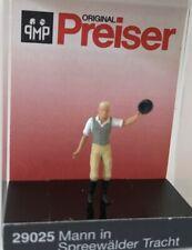 """Preiser 29025 Spur H0 Einzelfigur, """"Mann in Spreewälder Tracht"""" #NEU in OVP#"""