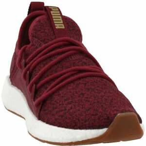 Puma Nrgy Neko Knit  Womens Running Sneakers Shoes    - Burgundy - Size 6 B