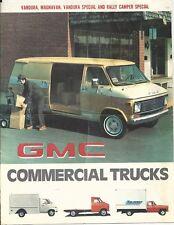 1977 GMC Commercial Trucks Showroom Brochure - West Nanticoke, PA