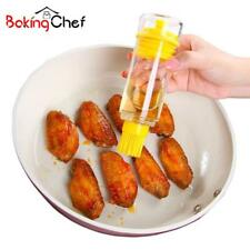 Oil Brush Dispenser Cruet Decanter Bottles Can Container Cooking Pastry Tool