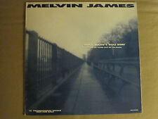 MELVIN JAMES WHY WON'T YOU STAY ORIG '87 MCA WHITE LABEL PROMO POP ROCK NM