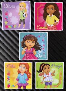 Dora the Explorer Stickers x 5 - Birthday Party Favours - Alana Naiya Kate Emma