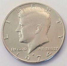 1974 Liberty Kennedy Half Dollar Coin Denver USA Circulated Money