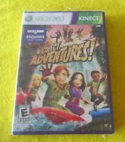 Kinect Adventures! Xbox 360  Brand New Factory Sealed