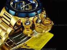 Invicta Men 52mm Rader Subaqua Sea Dragon Torpedo Swiss Chrono Blu/Gold SS Watch