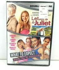"""New 2 Movie DVD, """"Letters to Juliet"""" & """"What to Expect When You're Expecting"""""""