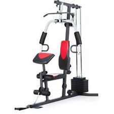 Weider 2980 214 lb Stack Home Gym Exercise Workout Strength Routine, 6 Stations