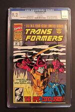 TRANSFORMERS #80 Scarce LAST issue 1991 OPTIMUS PRIME Marvel Comics CGC NM- 9.2