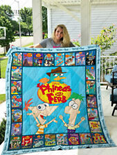 Phineas and Ferb Quilt Blanket