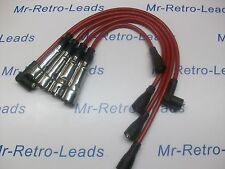RED 8MM PERFORMANCE IGNITION LEADS WILL FIT. VOLKSWAGEN GOLF MK1 GTi VW QUALITY