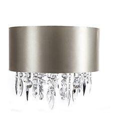 GRANDE GLAMOUR LUX Oro Pallido tamburo ombra chiaro gioiello delle gocce tonalità NUOVO Boudoir.