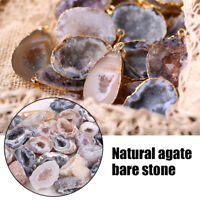 Agate Geodes Collection Raw Stone Slice Natural Crystals Halves  Healing Grade
